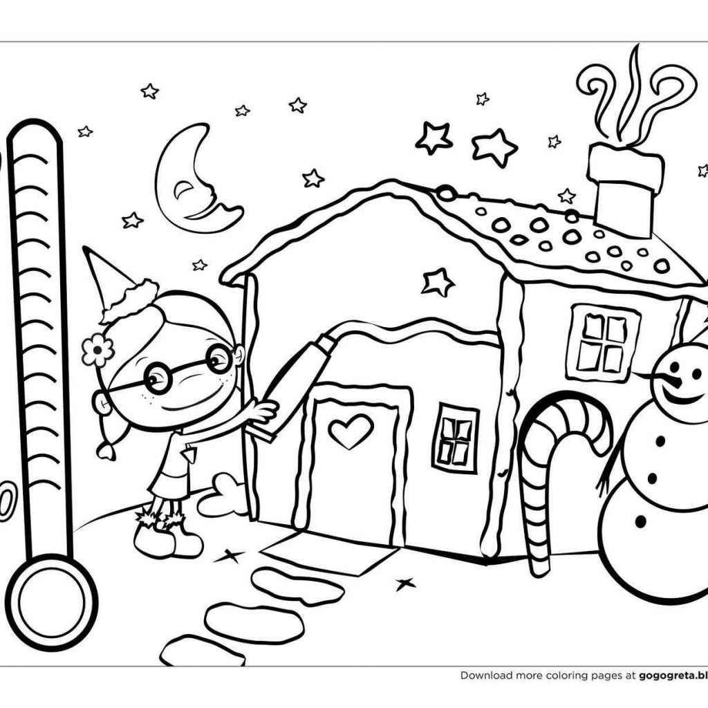 Christmas Coloring Pages For Free Online With Awesome 24 Merry