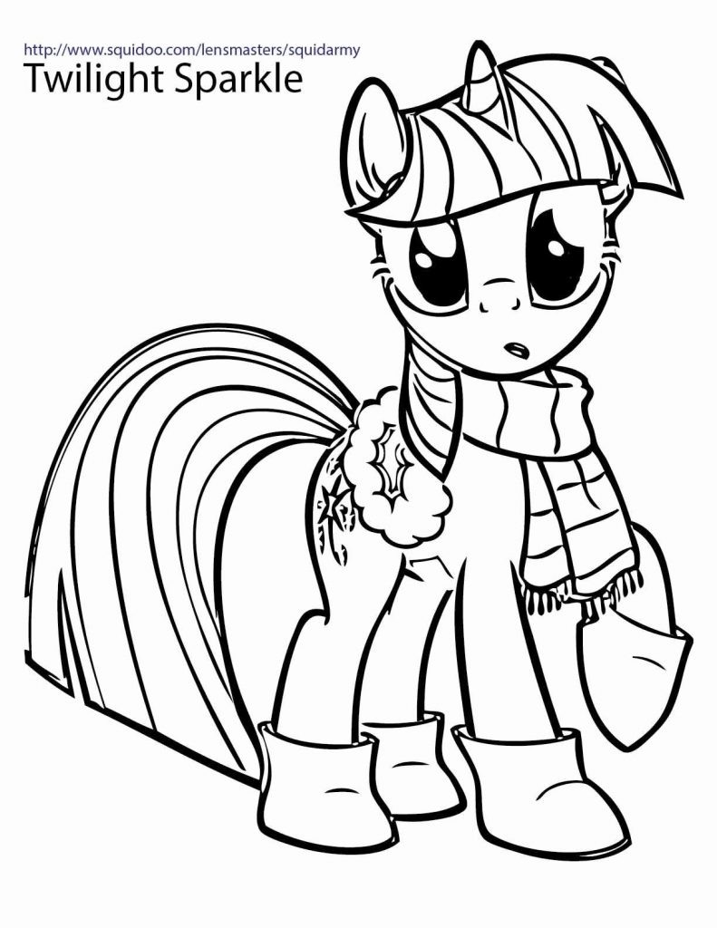 Christmas Coloring Pages For Free Online With Printable My Little Pony