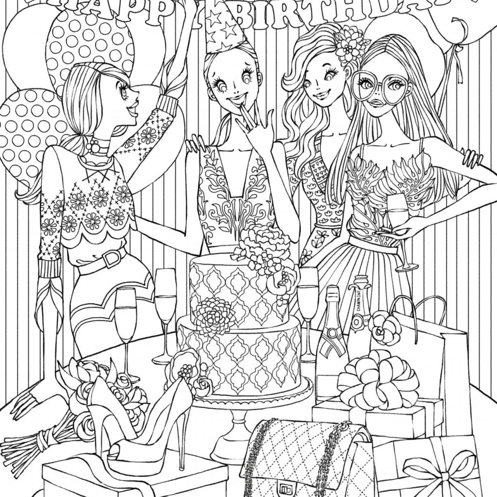 Christmas Coloring Pages For Free Online With Shopping Amazing