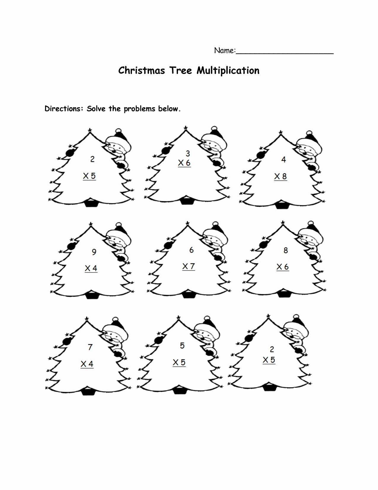 Christmas Coloring Pages For Grade 6 With Math Worksheets Fresh 40 2nd
