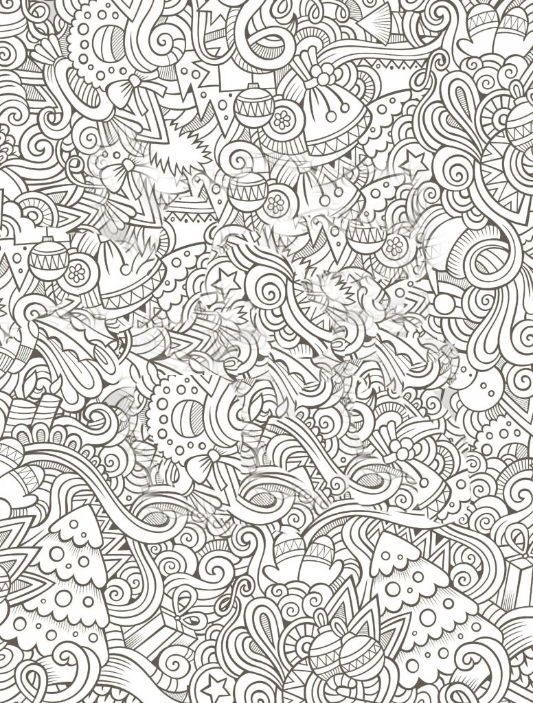 Christmas Coloring Pages For Grown Ups With Valid Amazon Designs