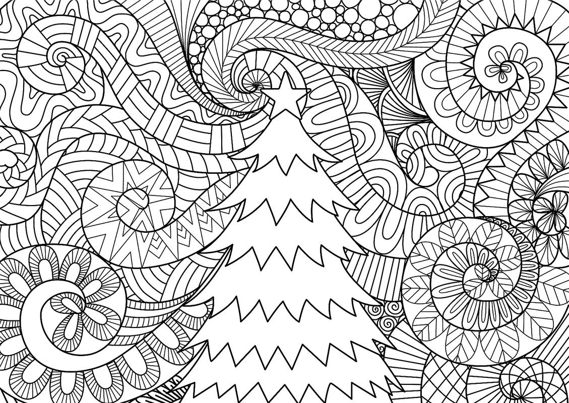 Christmas Coloring Pages For High School With 16 Printable The