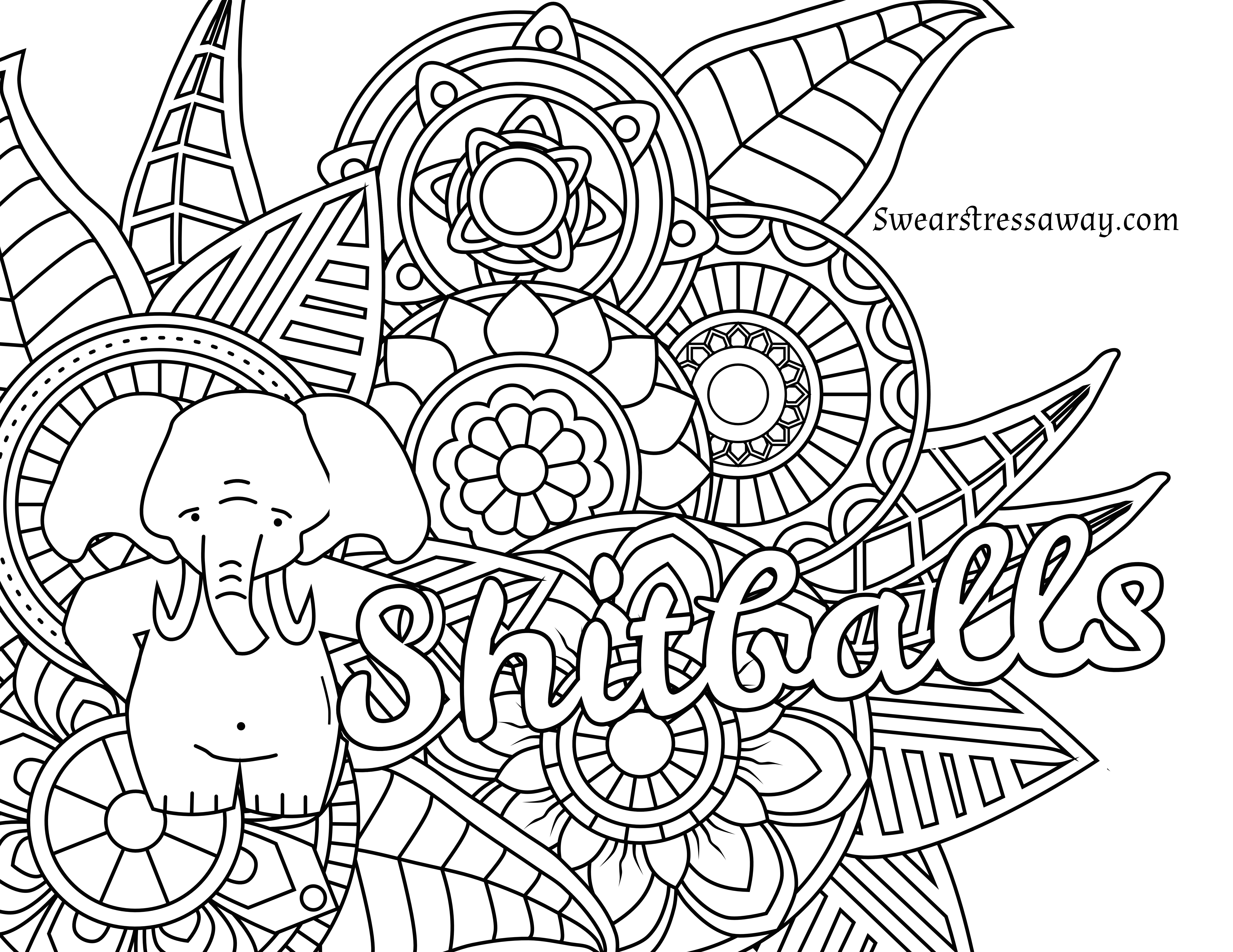 Christmas Coloring Pages For Intermediate Students With Downloadable Free That Are Printable Sheets