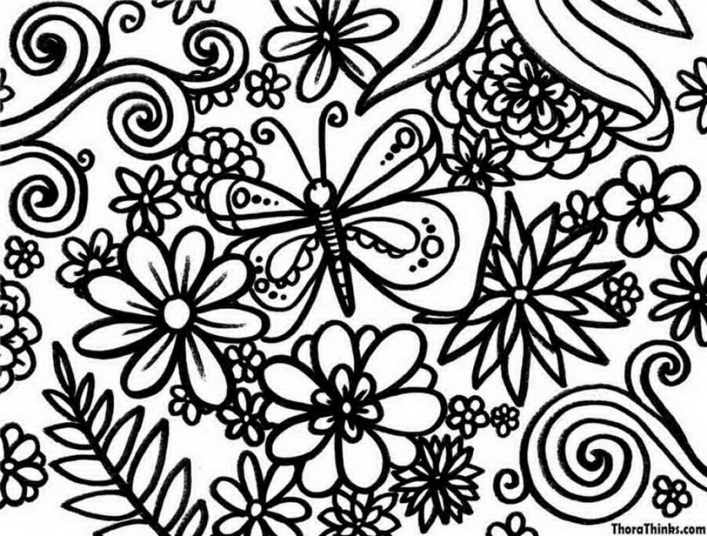 Christmas Coloring Pages For Middle School With Spring Free
