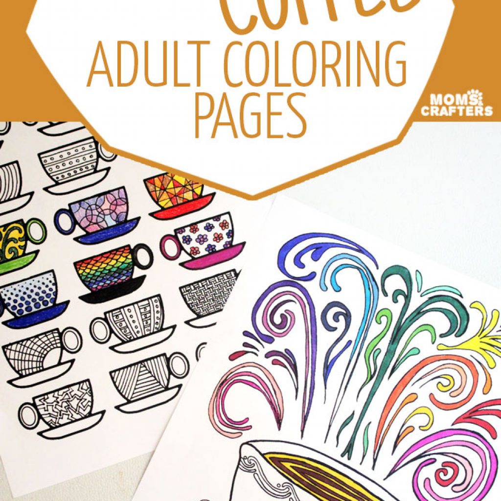 Christmas Coloring Pages For Mom With Free Printable Winter Adults Moms And Crafters