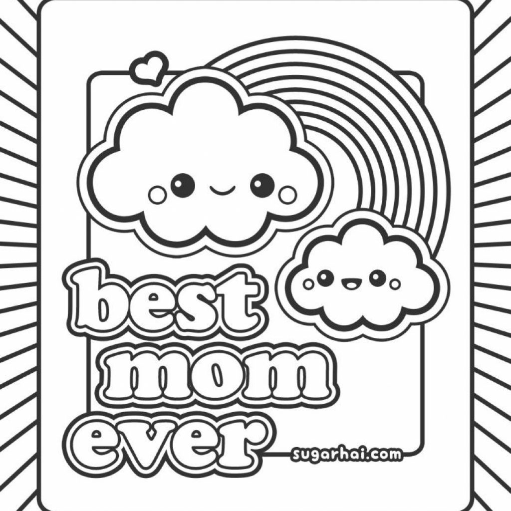 Christmas Coloring Pages For Mom With Ultimate Color Moms Best Of And Dad