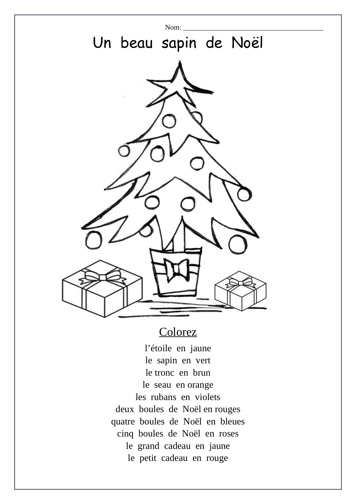 Christmas Coloring Pages For Pre K With Preschool Worksheets 664484 Myscres