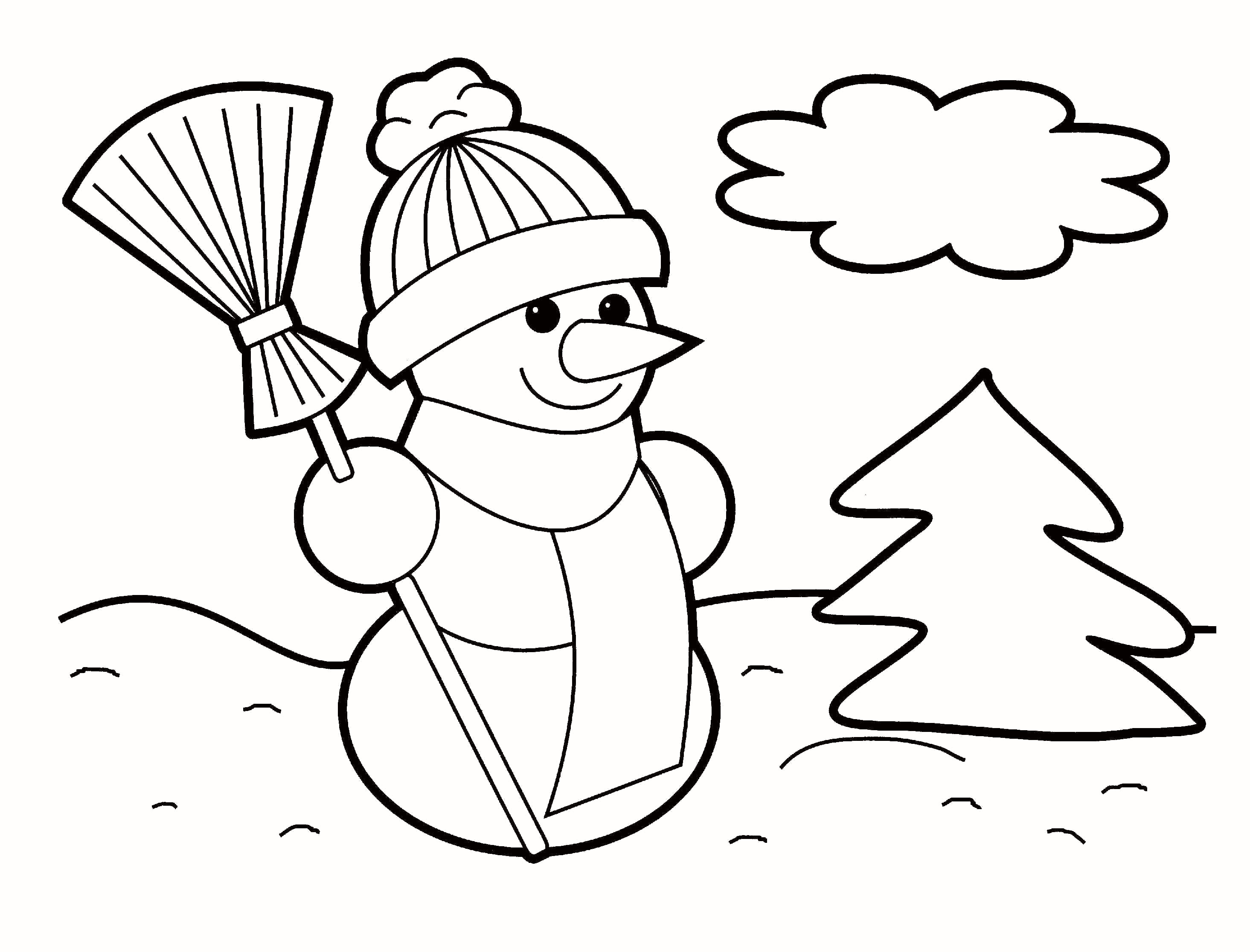 Christmas Coloring Pages For Preschoolers Free With Of How The Grinch Stole Disney 35 New