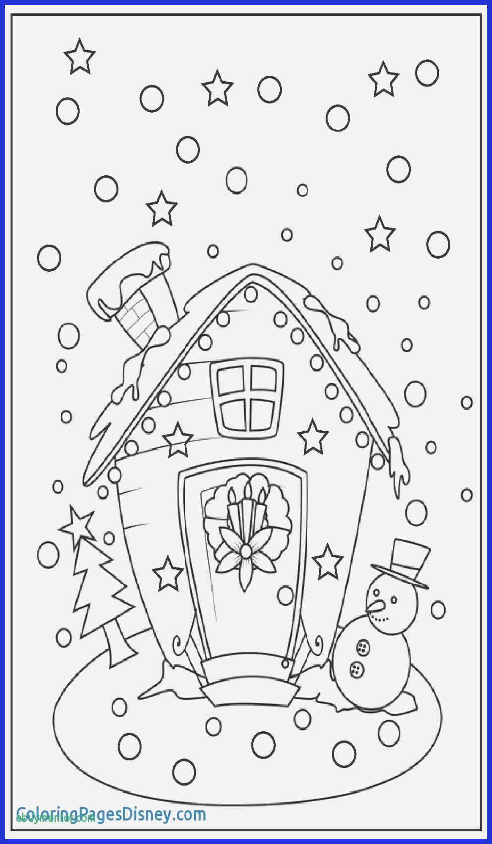 Christmas Coloring Pages For Preschoolers With 11 Year Olds 35