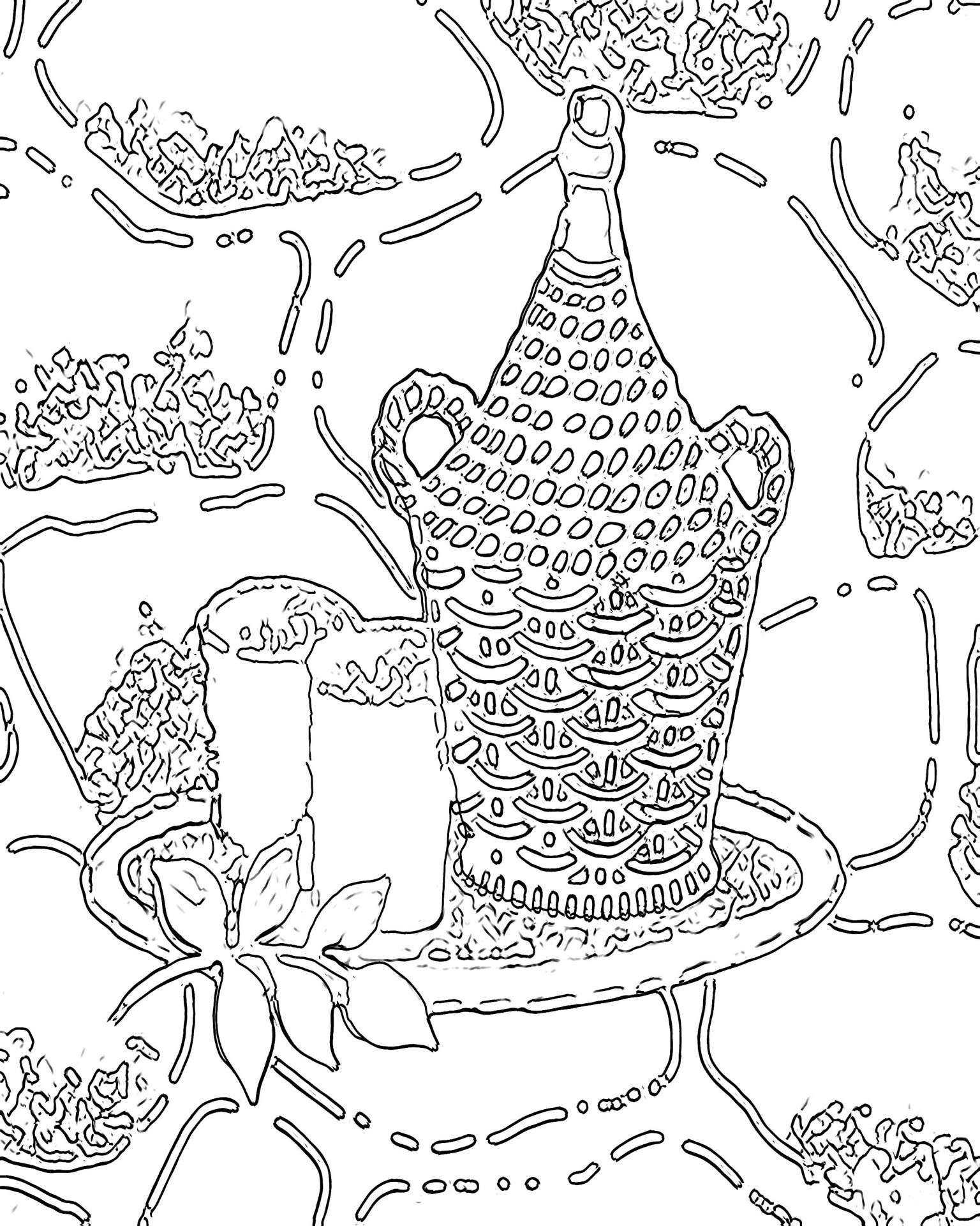 Christmas Coloring Pages For Preschoolers With Number 35