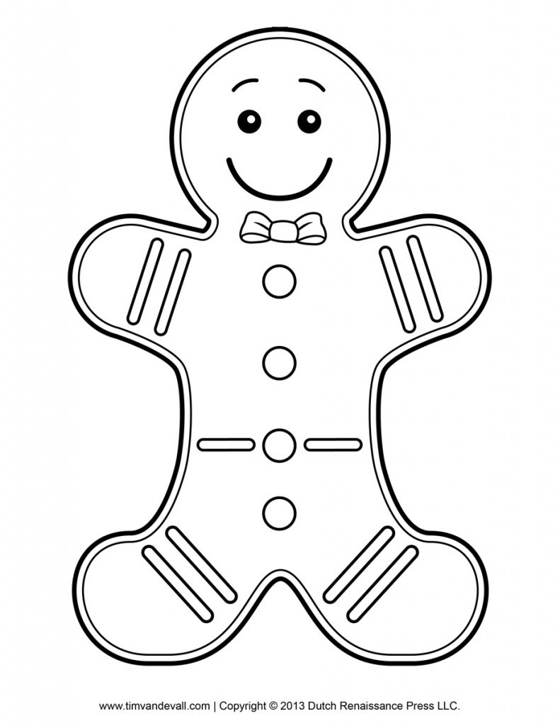 Christmas Coloring Pages For Preschoolers With Printable Page