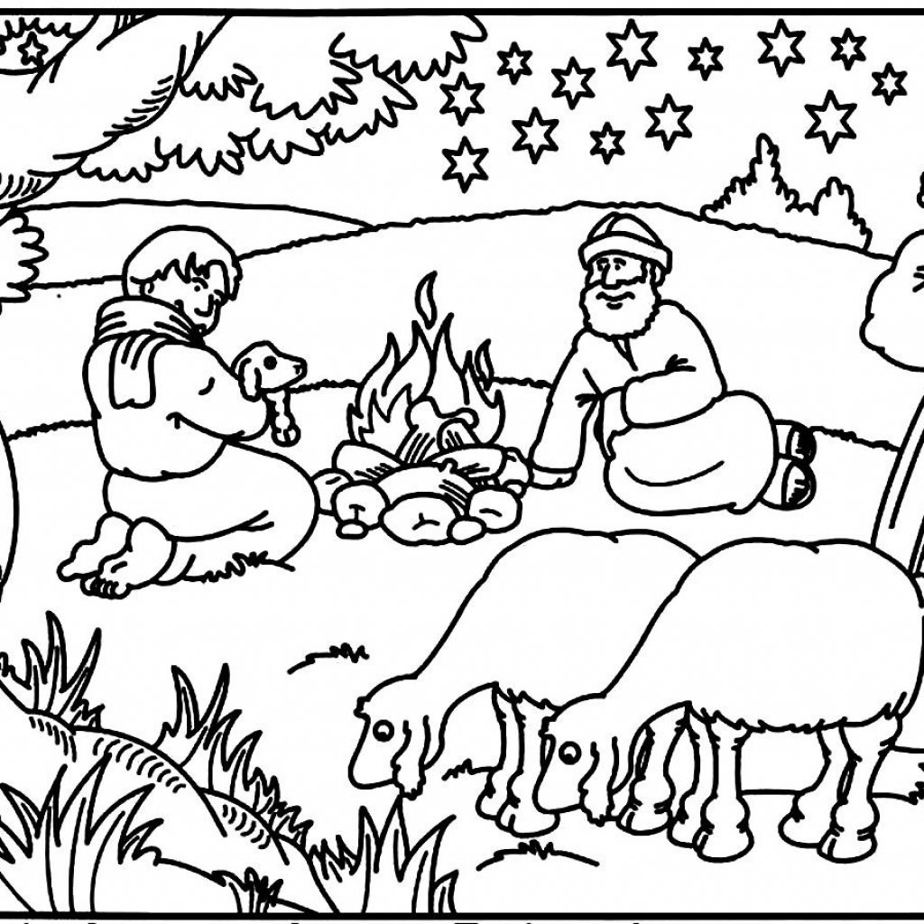 Christmas Coloring Pages For Sunday School With Free Printable Library