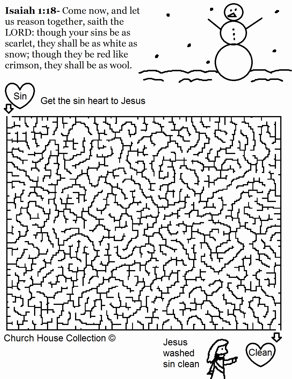 Christmas Coloring Pages For Sunday School With Snowflake Page Awesome