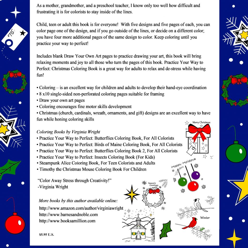 Christmas Coloring Pages For Teachers With Book 2017 Release By Author Illustrator