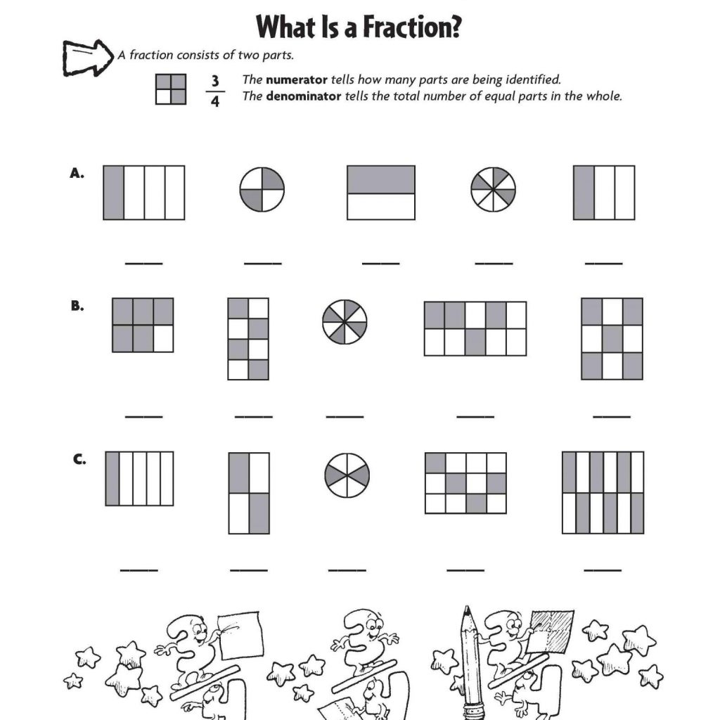 Christmas Coloring Pages For Third Graders With Math Worksheet