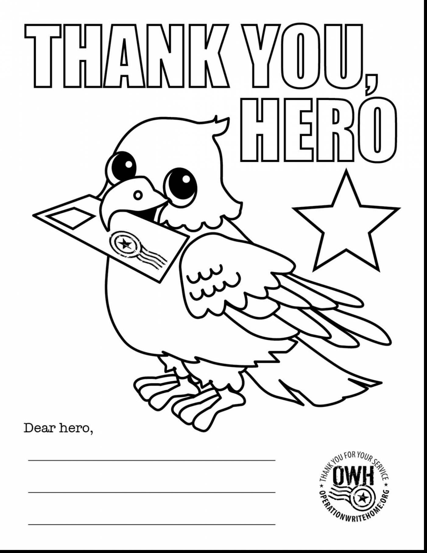 Christmas Coloring Pages For Veterans With Day Pdf Elegant Thank You Sheets