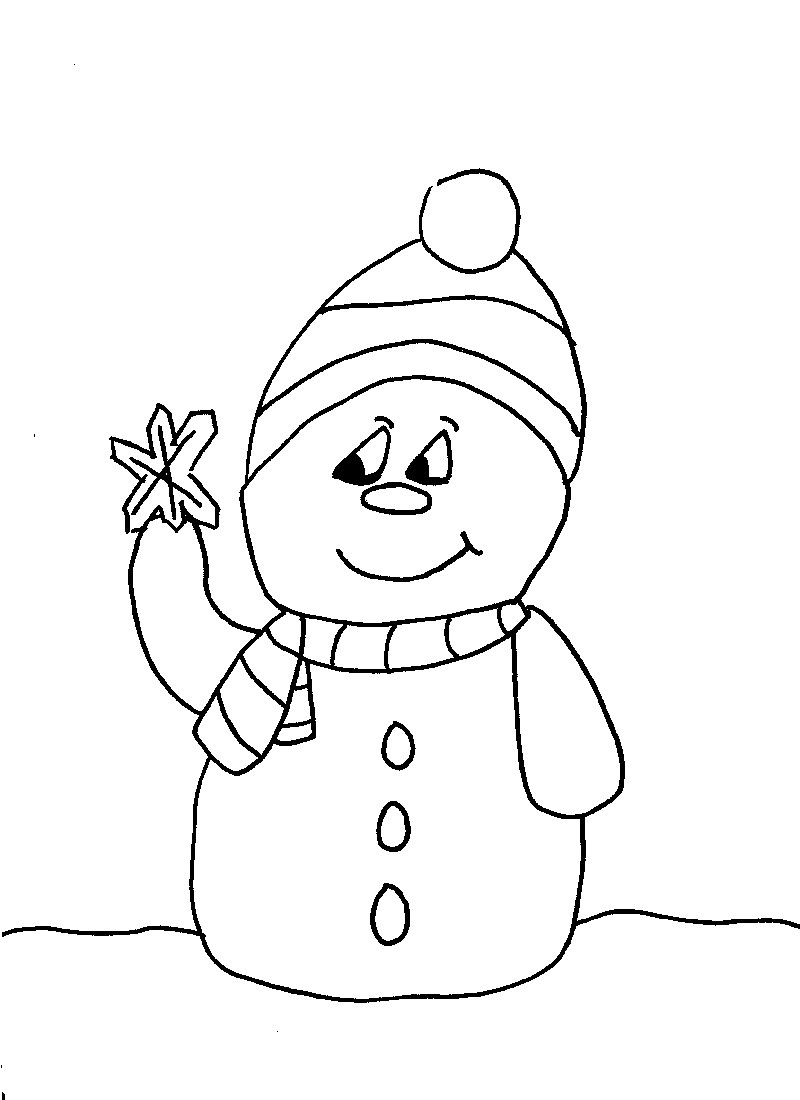 Christmas Coloring Pages Free To Print With Colouring And Colour