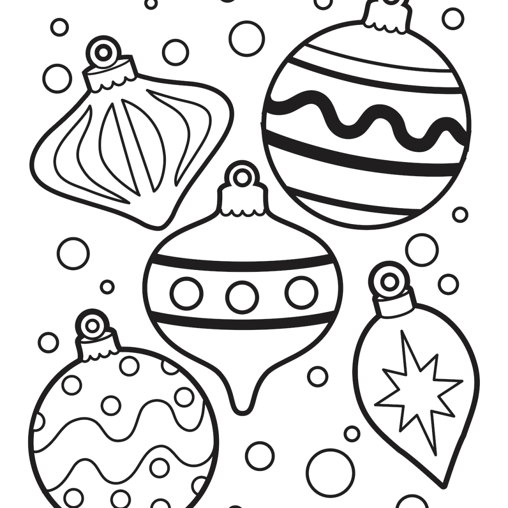 Christmas Coloring Pages Games With Crafts Pinterest