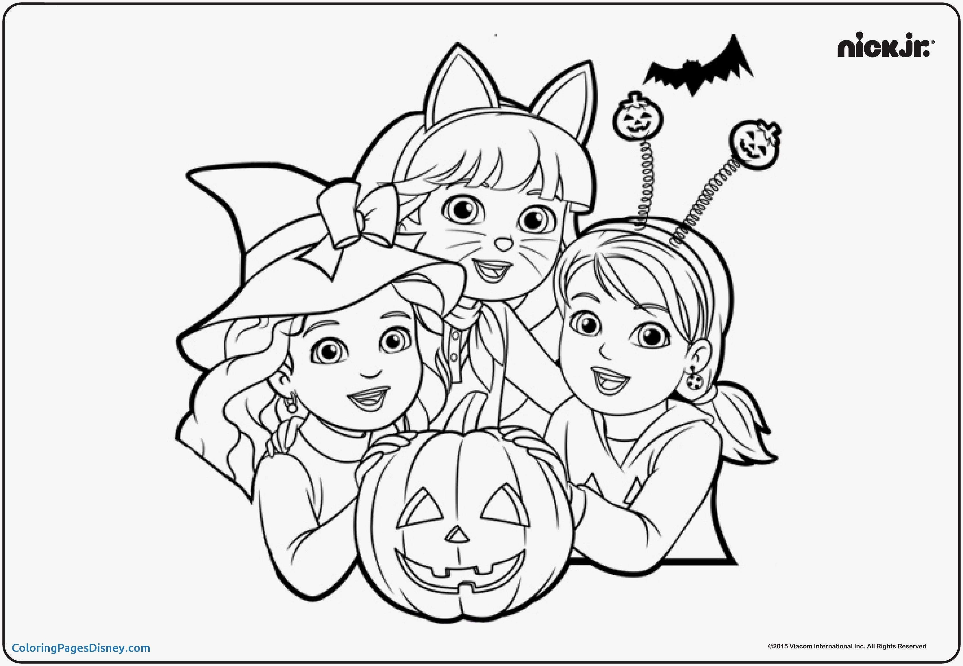 Christmas Coloring Pages Games With Dora Printable Inspirationa