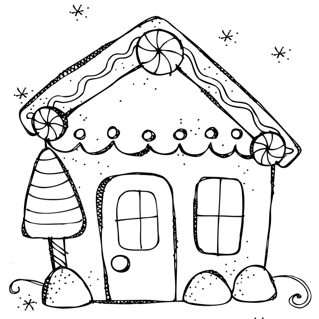christmas-coloring-pages-games-with-unique-gingerbread-house-gallery-free