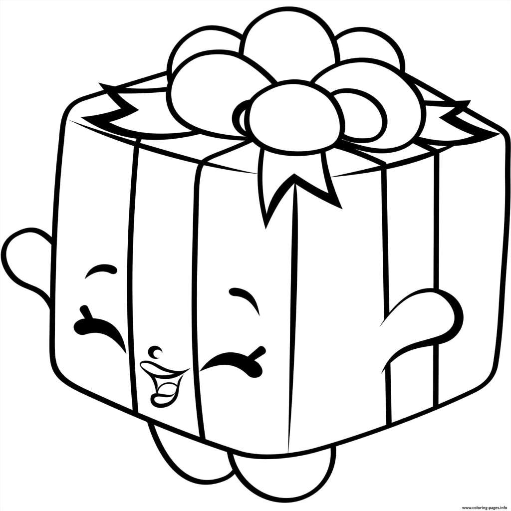 Christmas Coloring Pages Gifts With Present Page Luxury