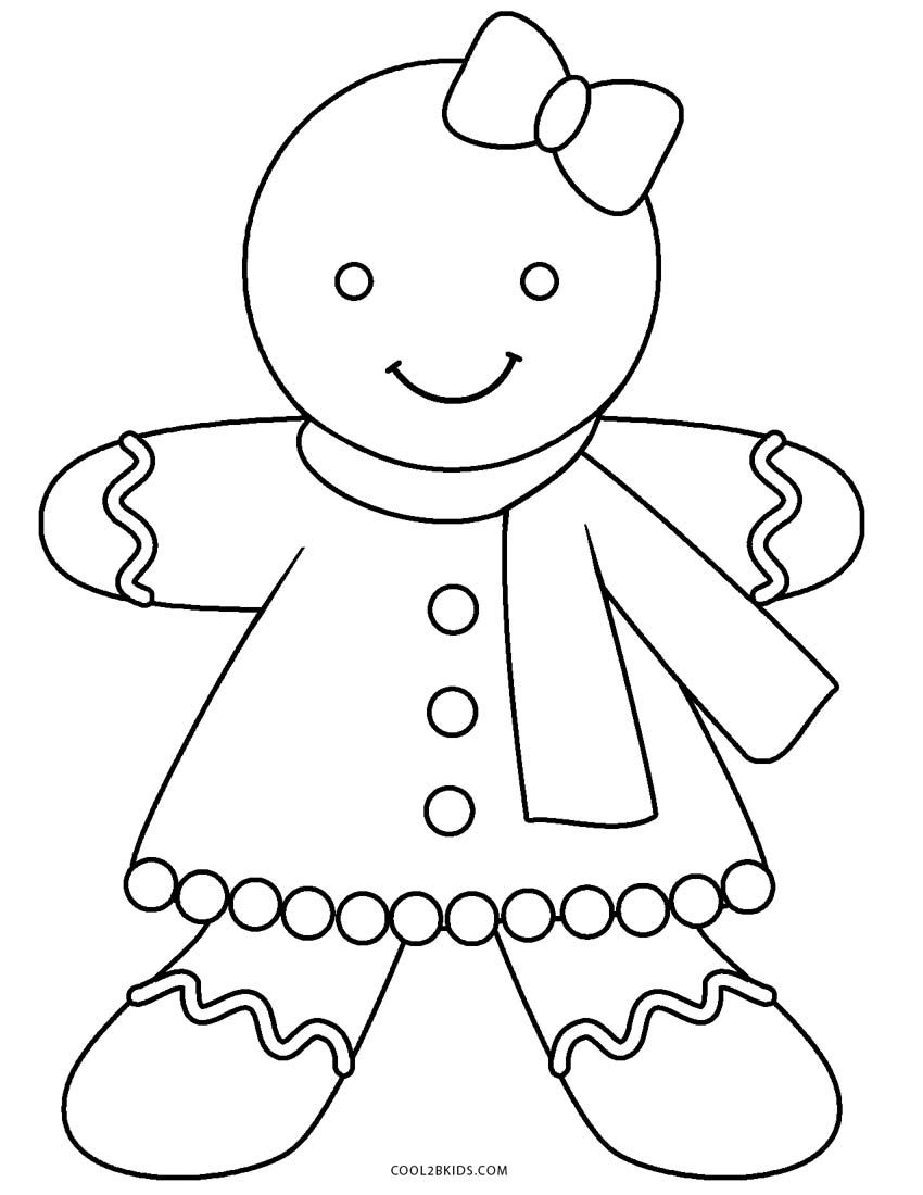Christmas Coloring Pages Gingerbread Man With Pin By Chrissy Geboe On Pinterest