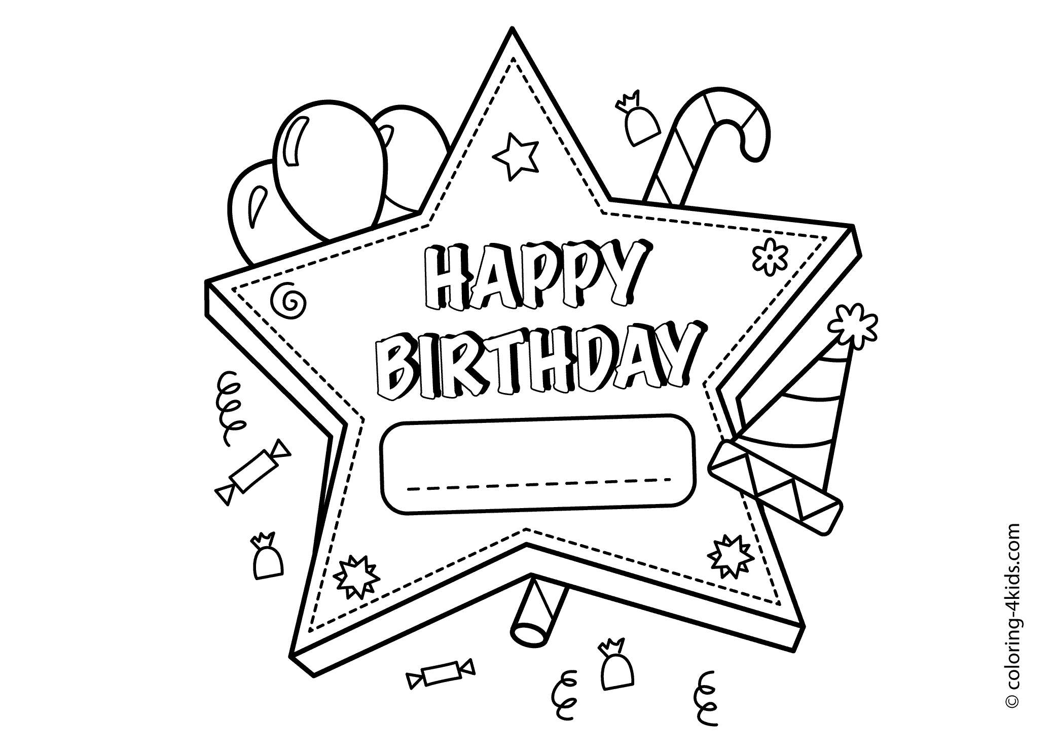 Christmas Coloring Pages Happy Birthday Jesus With To Print