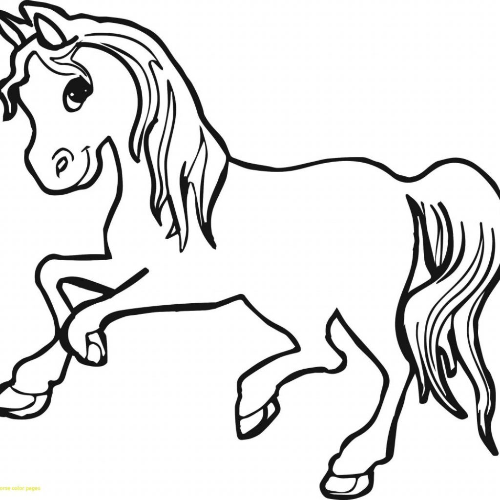 Christmas Coloring Pages Horse With Reliable Printable Magic Free