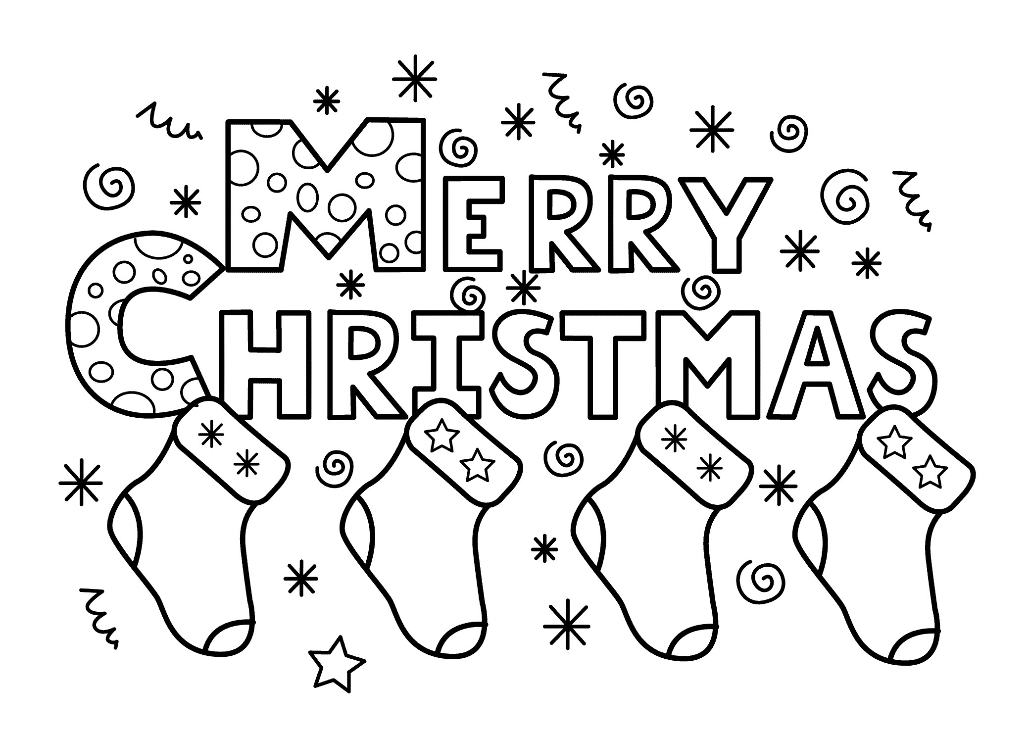 Christmas Coloring Pages Jesus With Fresh Merry Xmas Happy