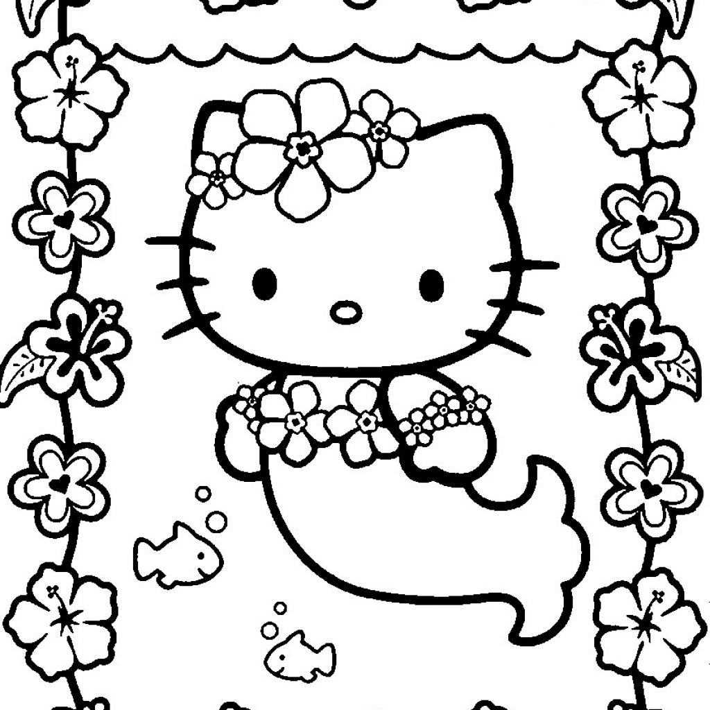 Christmas Coloring Pages Kawaii With Best For Kids