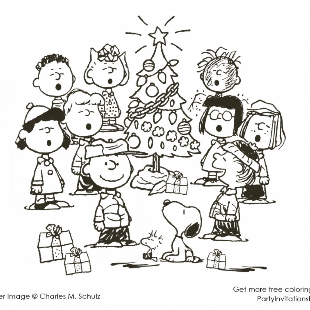 christmas-coloring-pages-kindergarten-with-peanuts