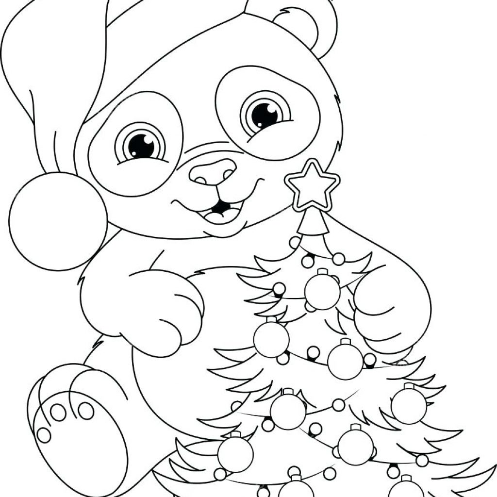 Christmas Coloring Pages Large With Elf Dynaero Info