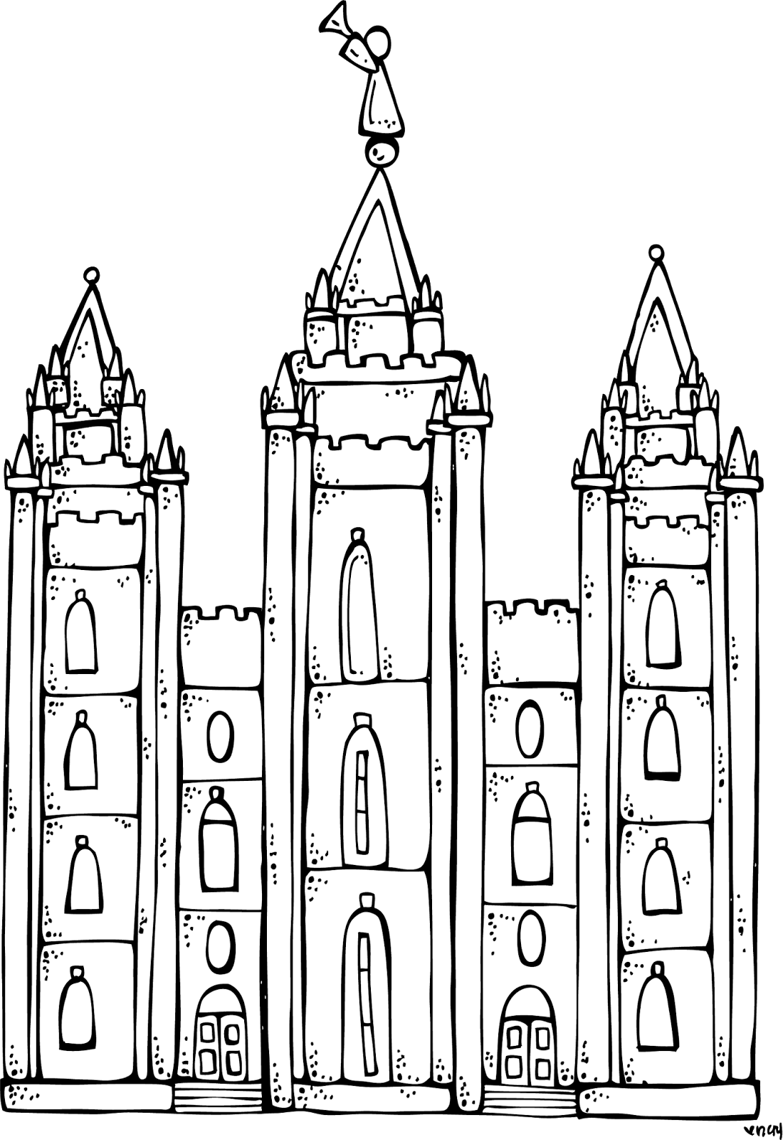 Christmas Coloring Pages Lds With LDS Dr Odd