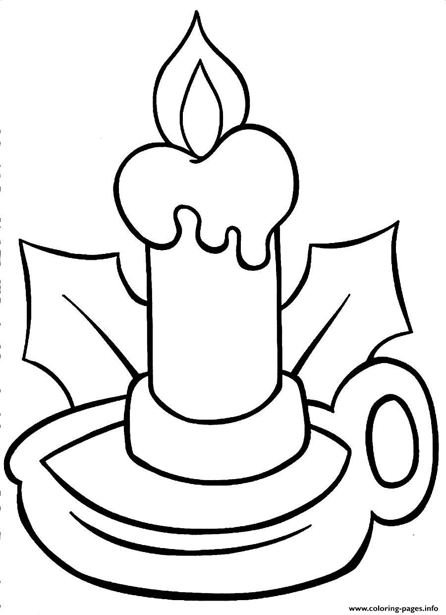 Christmas Coloring Pages Lights With Printable Page