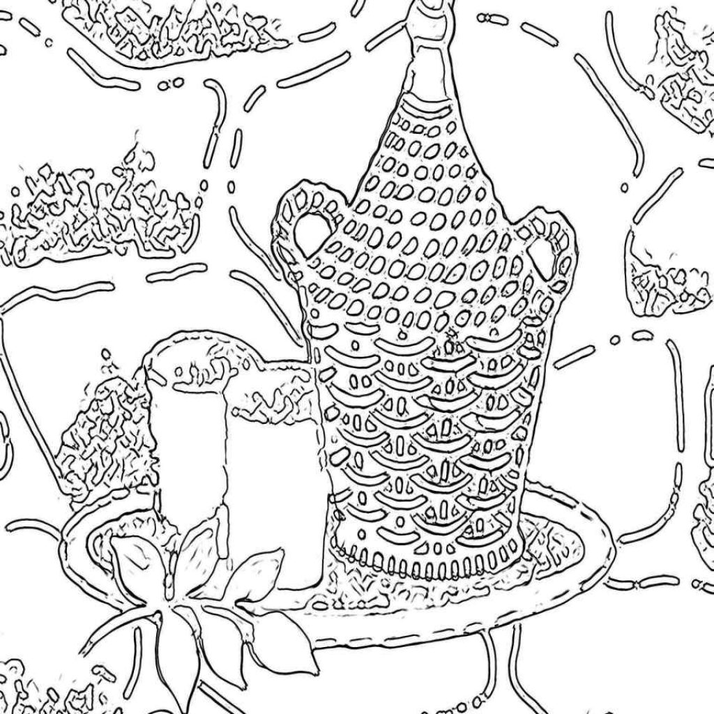 Christmas Coloring Pages Middle School With Art Ideas For Elegant