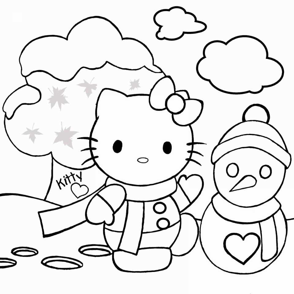 Christmas Coloring Pages Middle School With Lovely