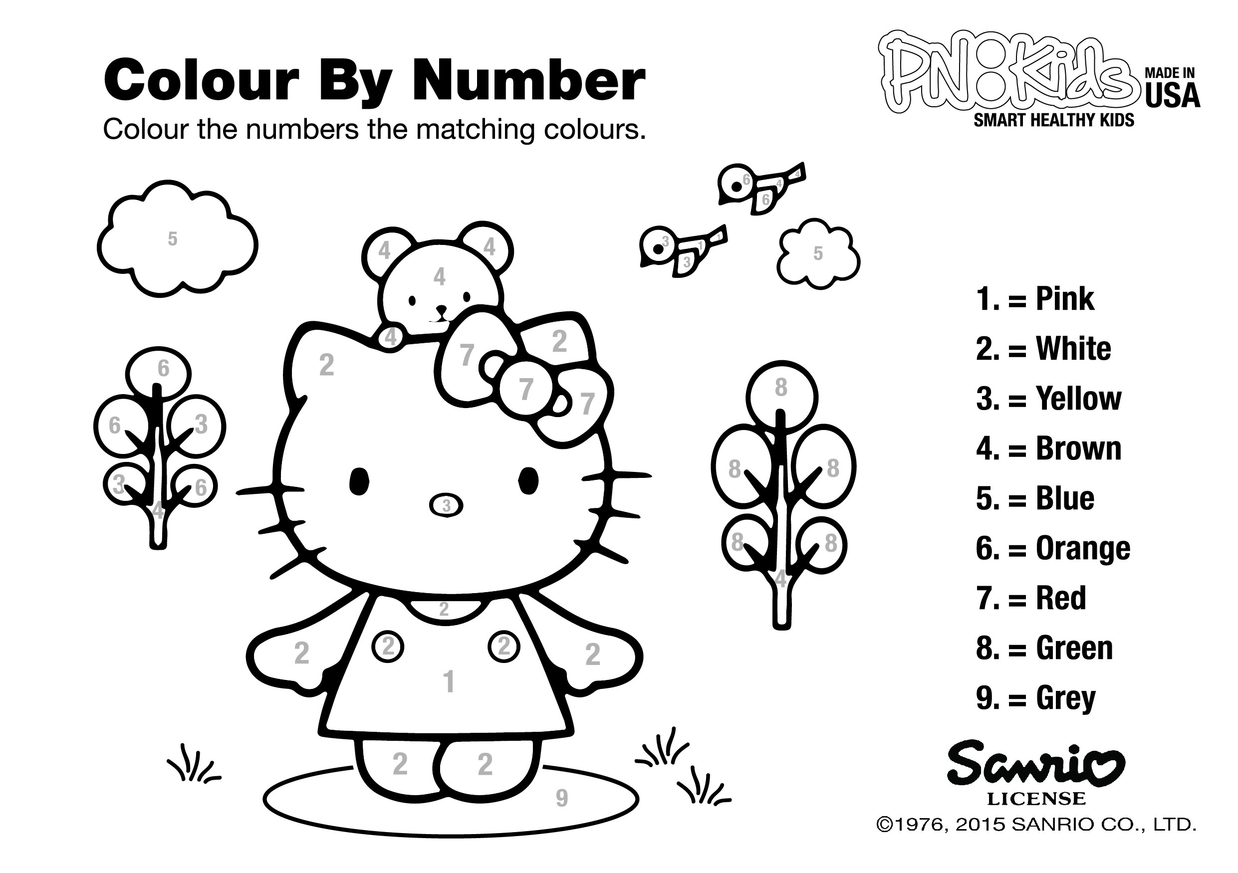 Christmas Coloring Pages Momjunction With Hello Kitty Archives Econohosting Co