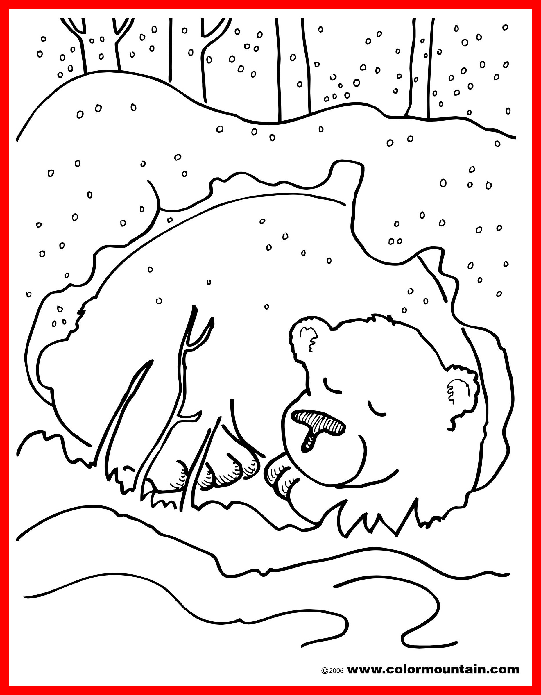 Christmas Coloring Pages Momjunction With Horse Free