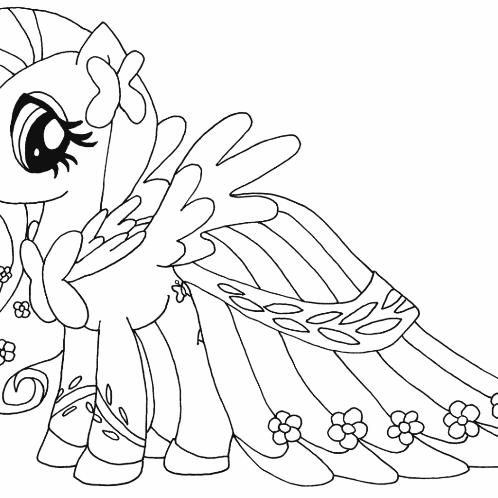 Christmas Coloring Pages My Little Pony With For Kids On