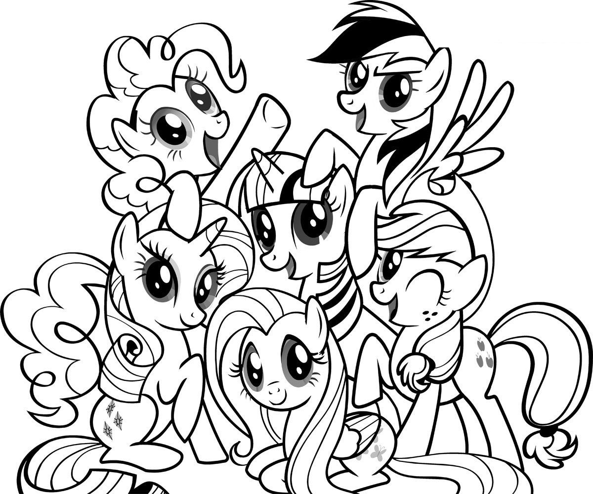 Christmas Coloring Pages My Little Pony With Free Printable Of 2296317