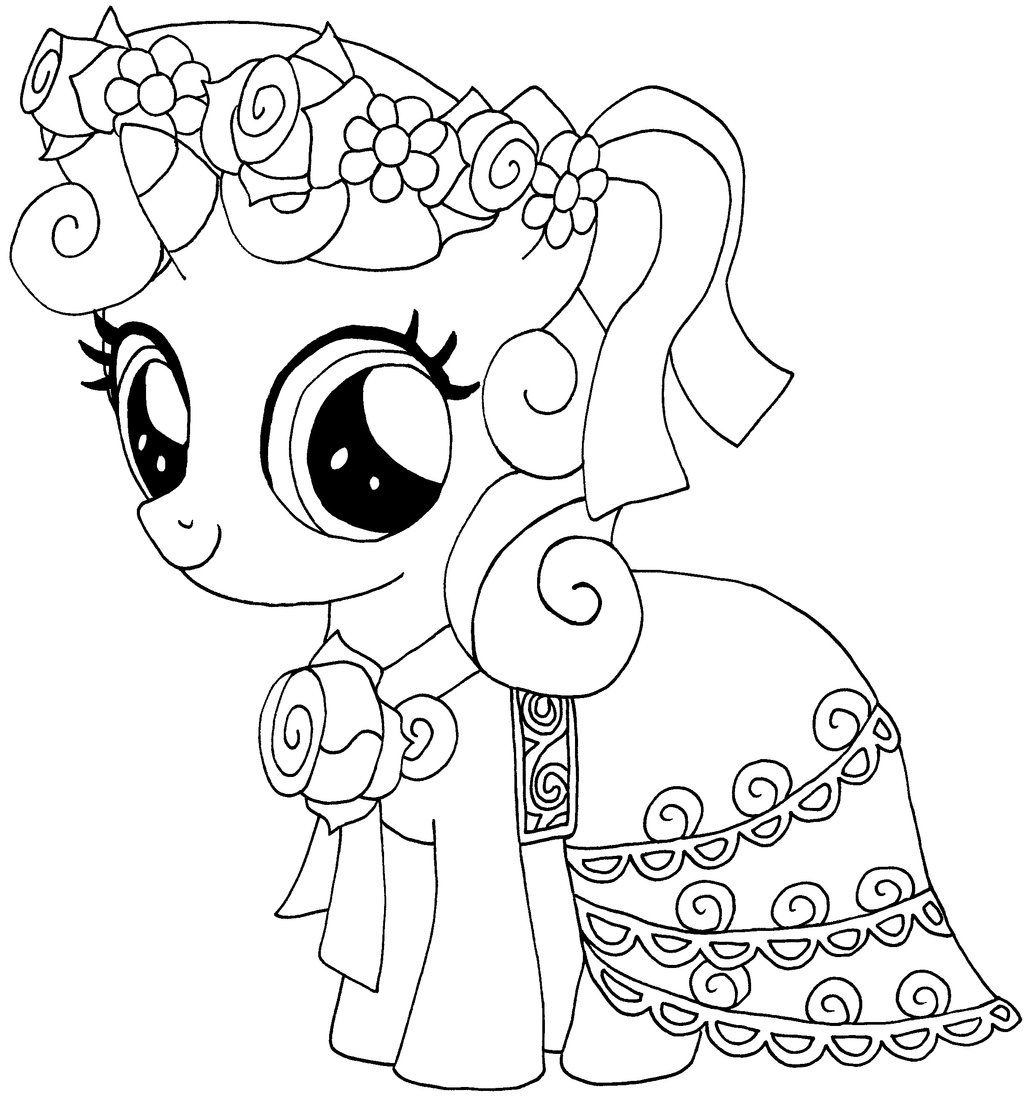 Christmas Coloring Pages My Little Pony With Sophisticated
