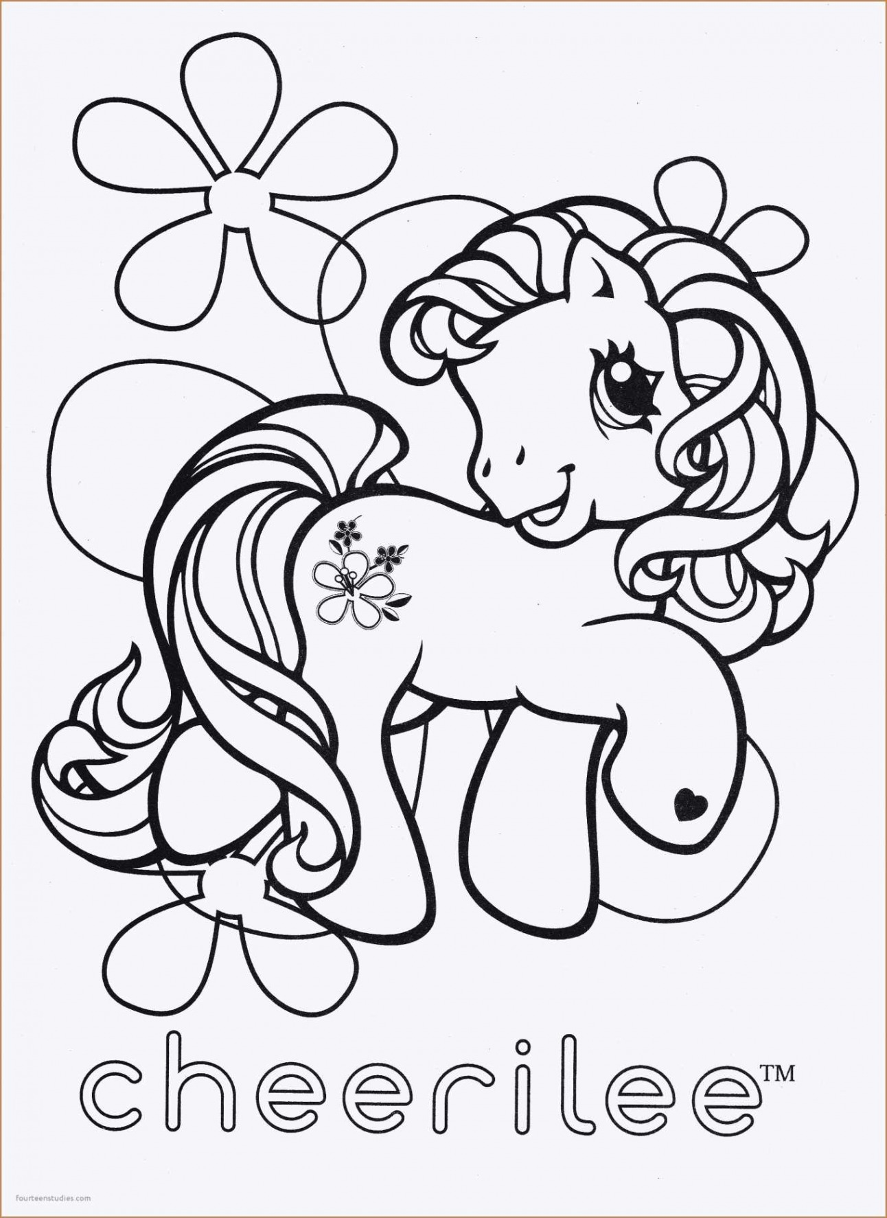 Christmas Coloring Pages My Little Pony With Top Stickers