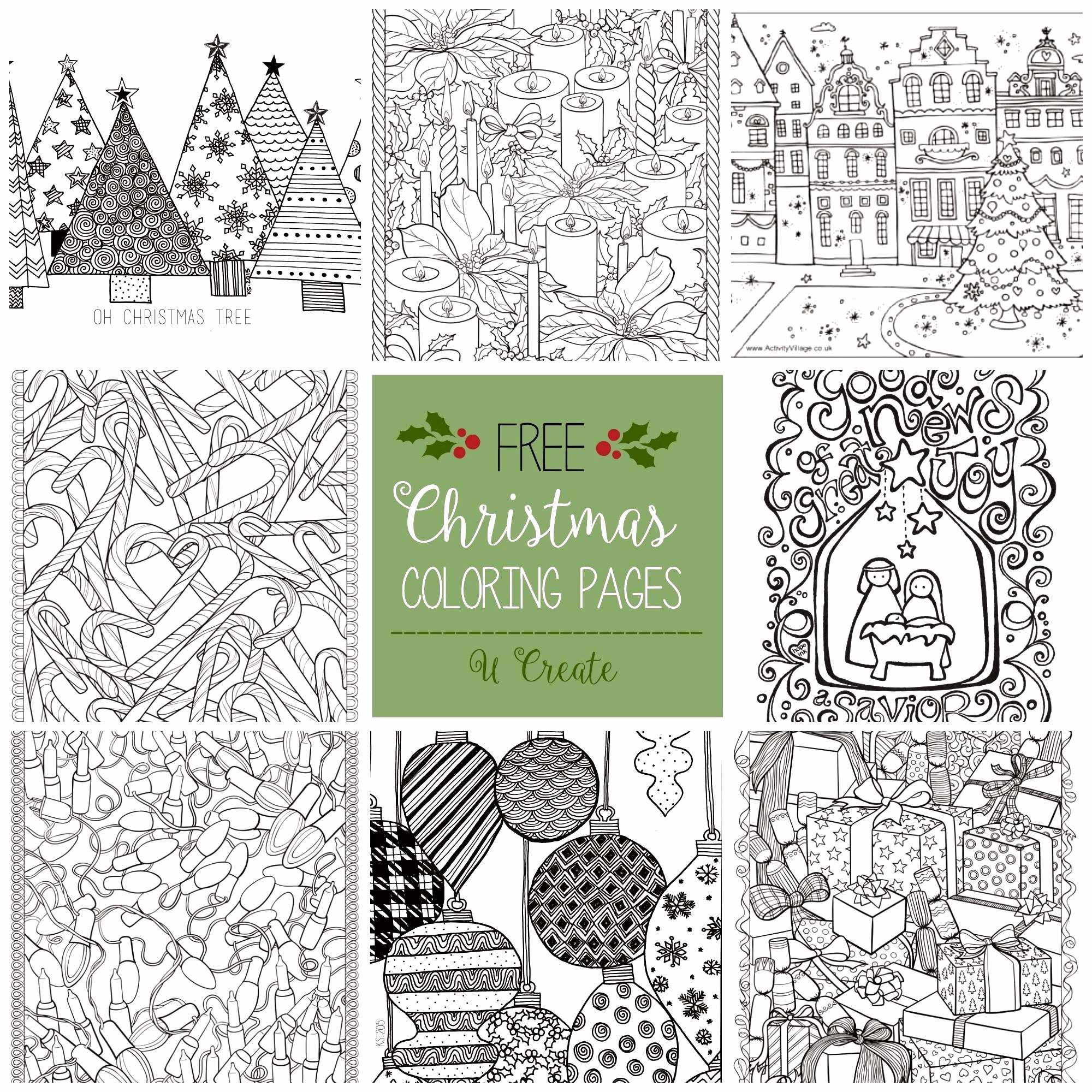 Christmas Coloring Pages Nativity With Medquit Free Printable