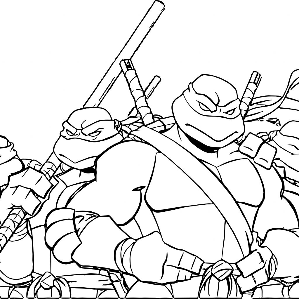 Christmas Coloring Pages Ninja Turtles With Fresh Cartoon