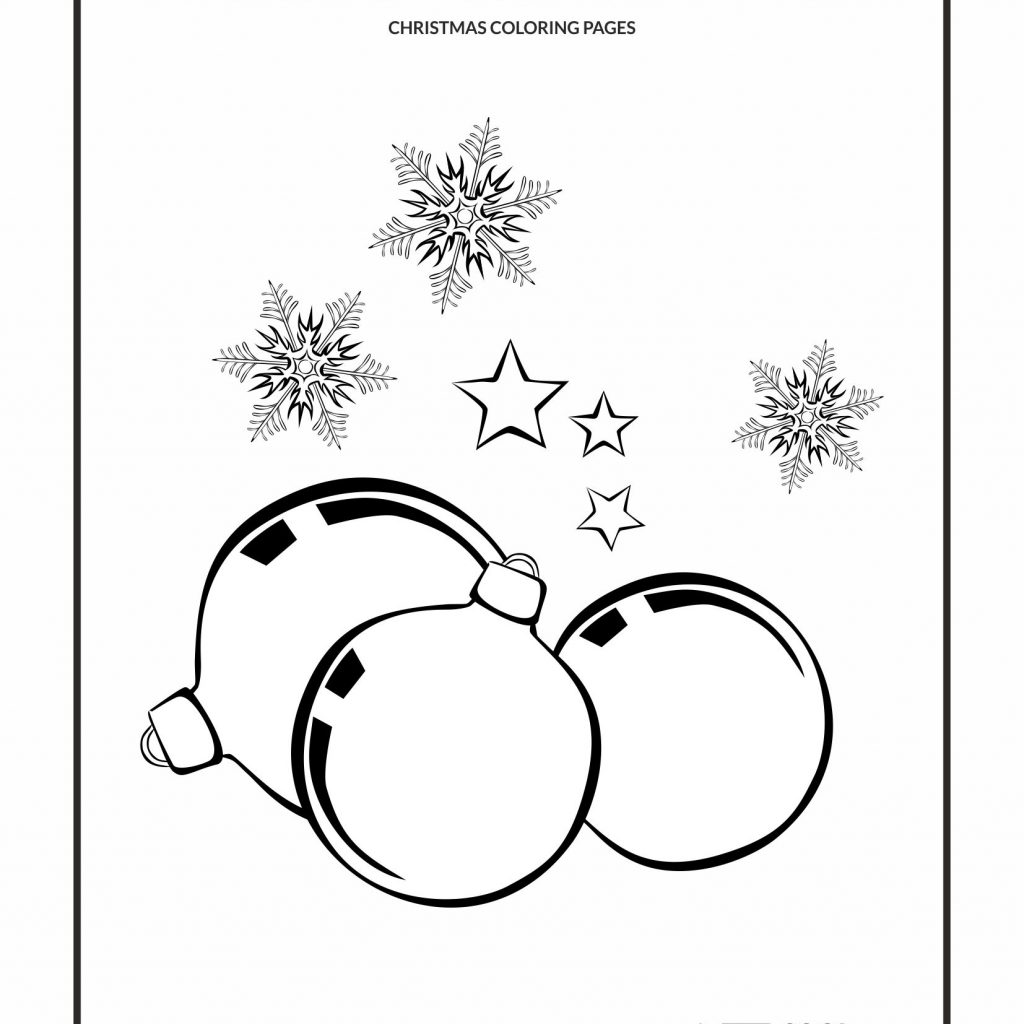 Christmas Coloring Pages No Download With Cool