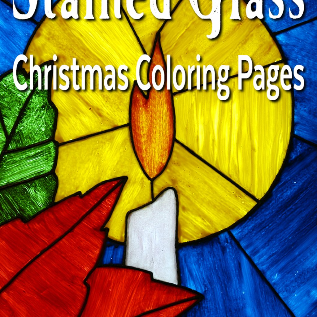 Christmas Coloring Pages No Download With Free Stained Glass