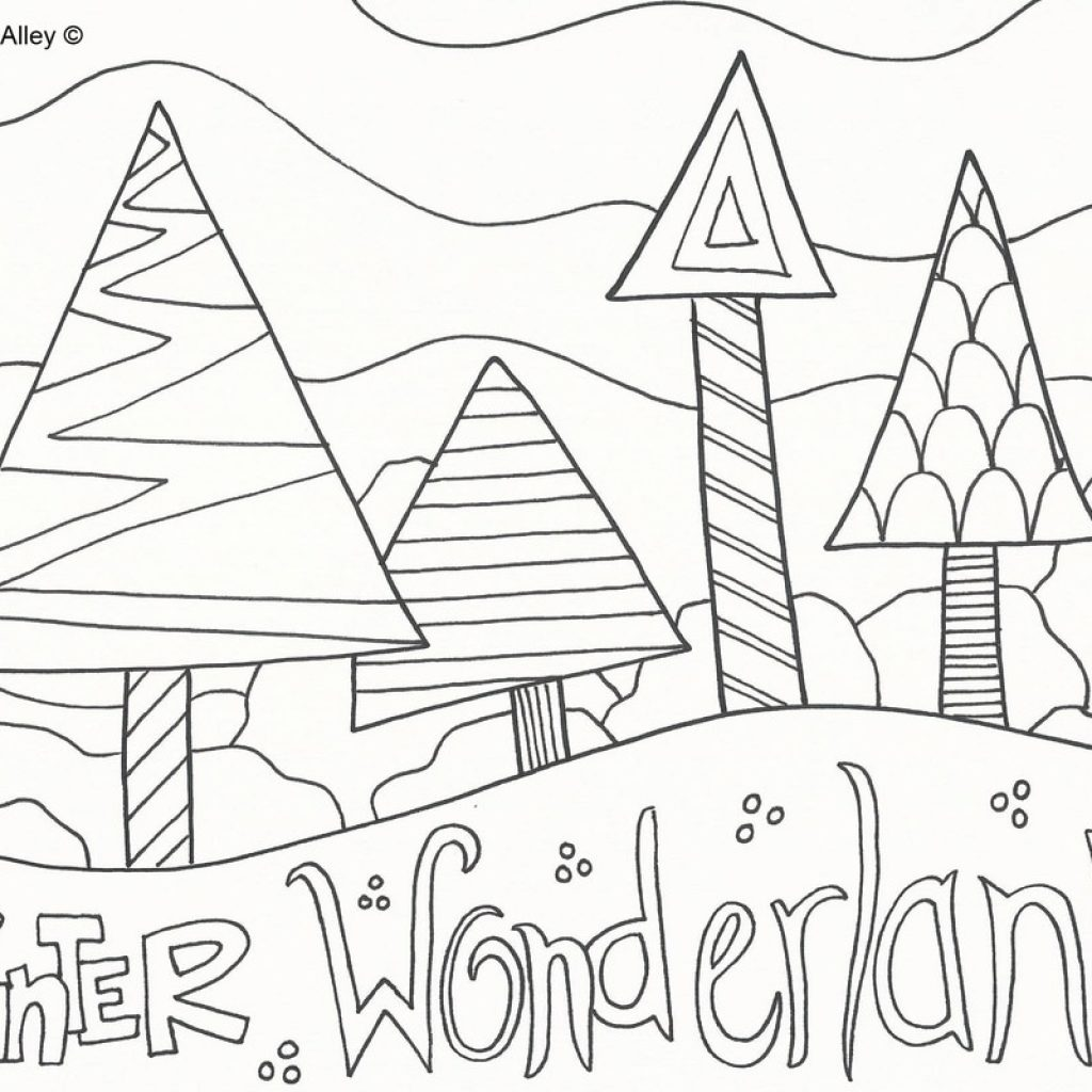 christmas-coloring-pages-north-pole-with-doodle-art-alley-5bfd5f047c563