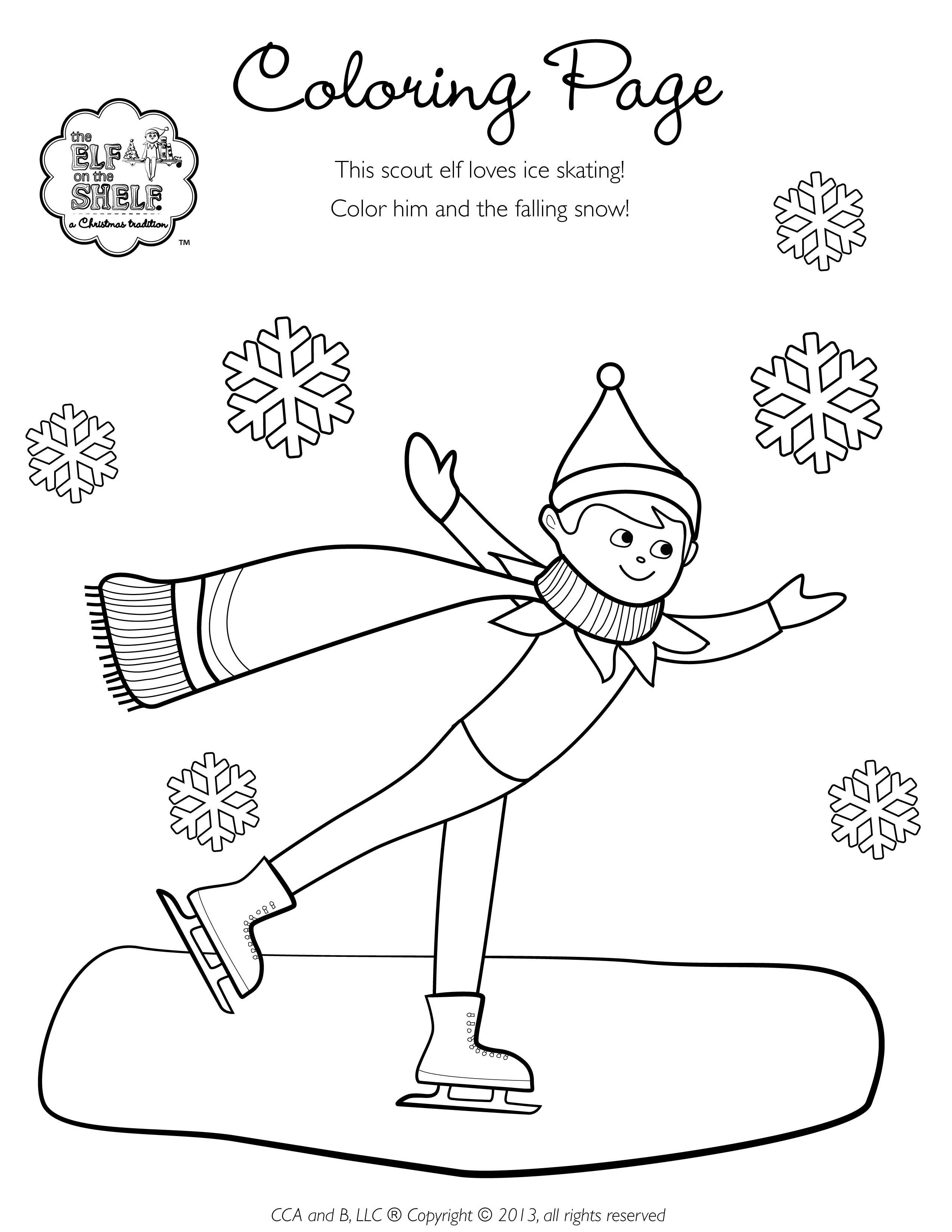Christmas Coloring Pages North Pole With The Has Been Hit A Blizzard To Stay Warm And Avoid