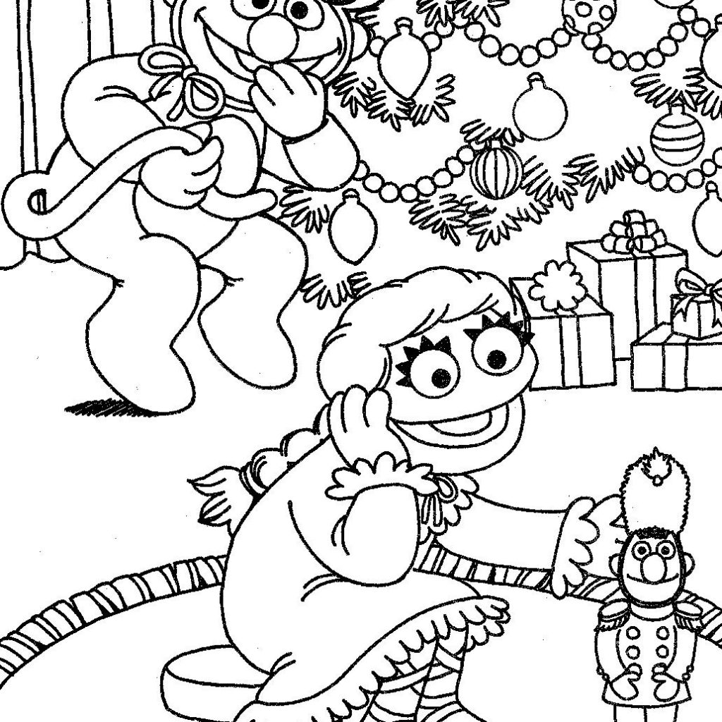 Christmas Coloring Pages Nutcracker With The Muppet Wiki FANDOM Powered By Wikia