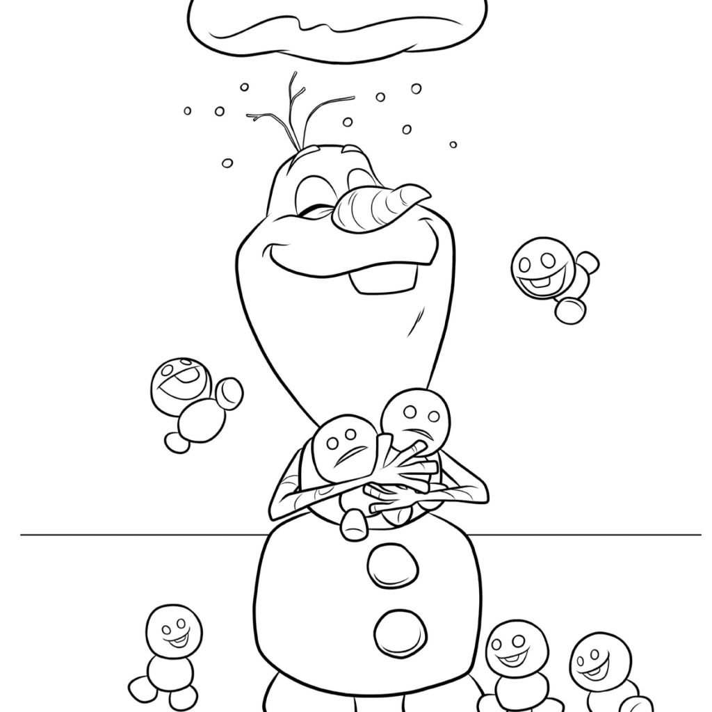 Christmas Coloring Pages Olaf With Sally 21csb